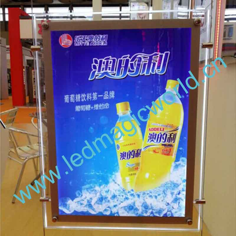 2014 illuminated Advertising Light Box/LED Poster Frame/LED light frame