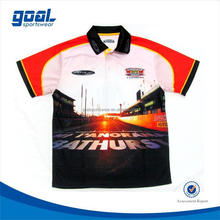 Good quality make your own oem motorcycle racing team jersey wear