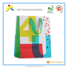 Chinese Factory OEM Production Customized Paper Bag and Kraft Paper Bag with Paper Handle with nice quality