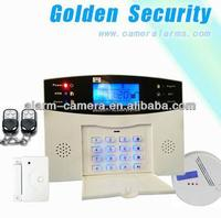 SOS, fire, gas, door, hall, window, balcony, and boundary Wireless home GSM system SMS TEXT Alert Security Burglar Alarm System