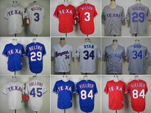 Texas Rangers Jerseys Baseball Shirt 84 Prince Fielder Jersey 54 Matt Harrison 17 Shin-Soo Choo 29 Adrian Beltre 11 Yu Darvish