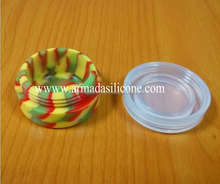 2014 New Design Customized Non-Stick Shatter Concentrate butane hash oil silicone container