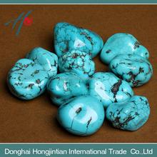 Natural turquoise stone rough stone wholesale