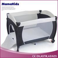 2015 detachable baby bed crib plastic