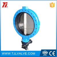 u type ductile iron etfe lined butterfly valve din/ansi/jis low price