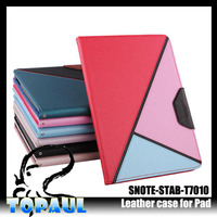 Mixed color tablet cover case for samsung galaxy tab p3100