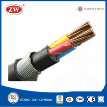 low voltage xlpe insulated 3x2.5 mm2 electric power cable