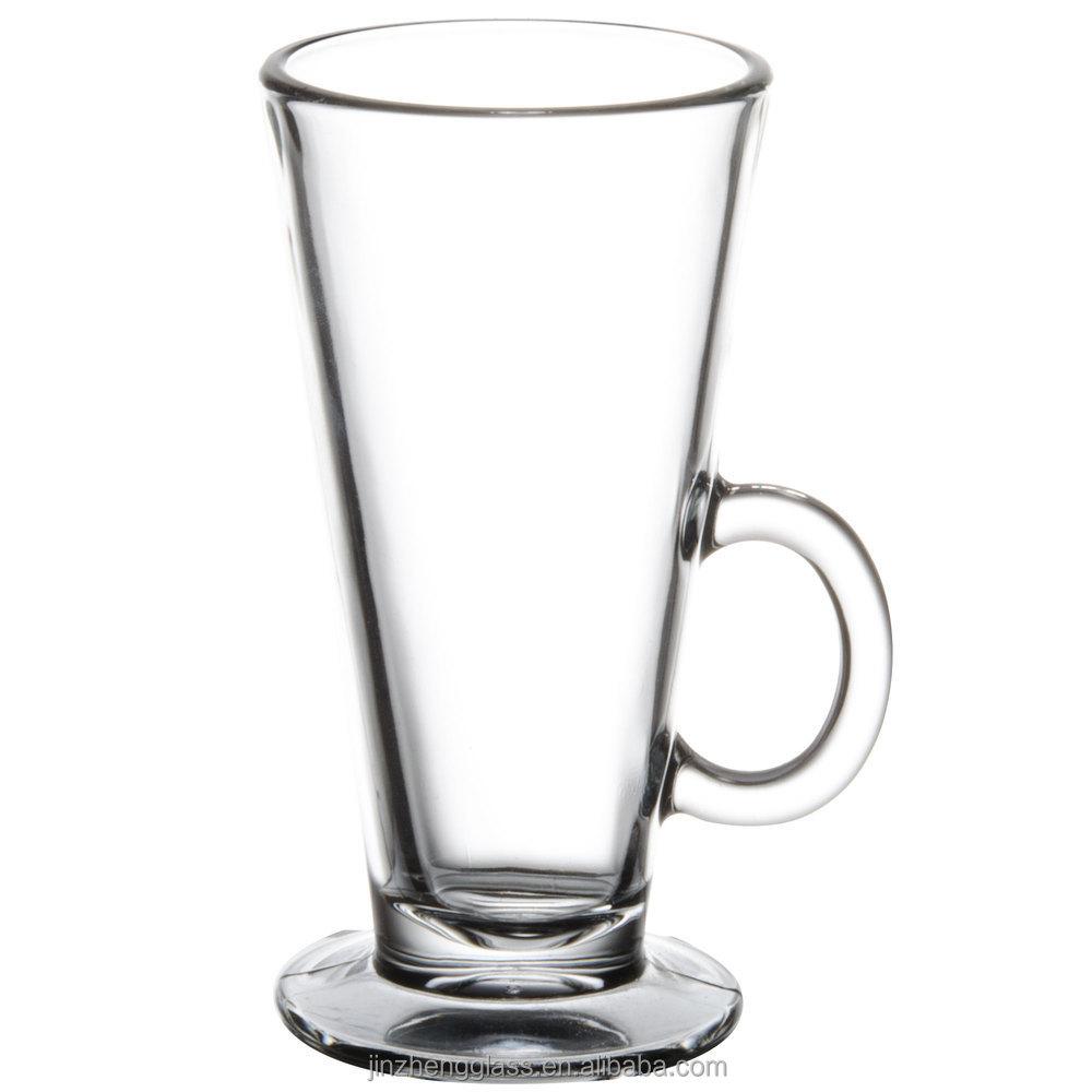 Clear Gl And Stainless Steel Macchiato Mug Set Of 2 323334 Jpg