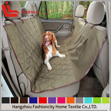 machine washable dog car back seat covers in luxury style for pet