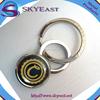 Special Design Shiny Epoxy Printed Logo Key Ring Holder