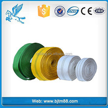Custom webbing woven band solid color pattern tape polyester cotton webbing belts, strap polyester band
