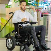 Showgood Electric Power Folding Wheelchair Wheel Chair Manufacturer