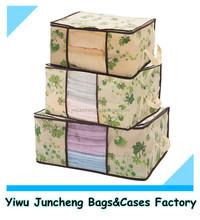 Printed Non Woven Storage Bag for Bedding /Jumbo Storage Bag
