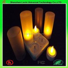 Best Quality Christams Religious Activities Rechargeable Light Wedding LED Candles