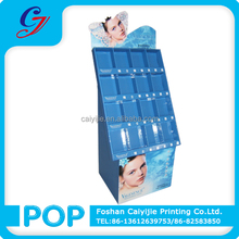 CYJ -09123 New designed water-proof promotion pocket floor display for skin/christmas