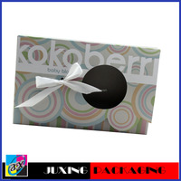 Fashionable White Bowknot Circle Design Color Box