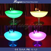 led bar furniture/ led bar stable/ color changing stable / rechargeable lighted stable