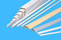 White PVC cable duct size 16*16 25*25 40*40 100*50 100*100