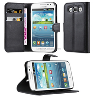 Premium PU Lichee Pattern Leather Cover Phone Case For Samsung Galaxy Win I8552