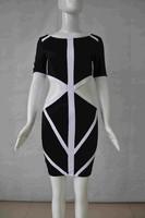 Sexy wholesale white and black ladies dress stock
