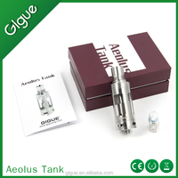 Hottest Gigue Aeolus Tank, First Turbine Blade Design tank atomizer ,316 stainless steel coil prices, 4.5ML ,DTVC sub ohm tank