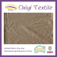 good quality 100 cotton single jersey knitted fabric for t-shirt
