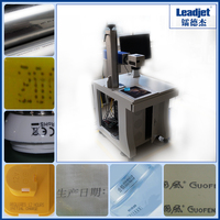 Leadjet hight quality laser marking machine for medical and food package