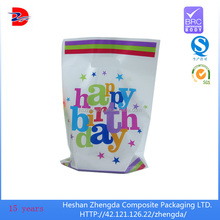 plastic bag for party supplies, gift wrapping plastic bag,wedding gift