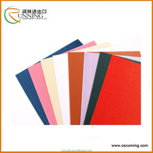 wholesale factory supply packing colorful pearl f flute corrugated paper