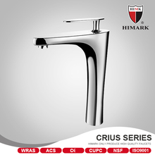 Family use brass basin faucet for bathroom