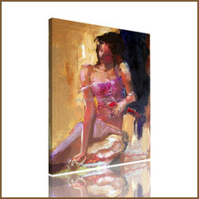 Popular picture woman usa sex sex of modern abstract oil painting for living room
