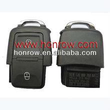 High quality VW 2 Button remote control car 1J0 959 753 CT with 433MHZ& remote key case & auto key blank& VW keys