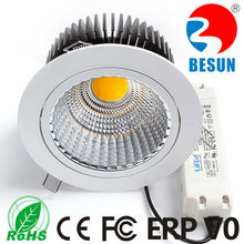 Durable export 110/220V COB LED Lux Down light with Lifud Driver