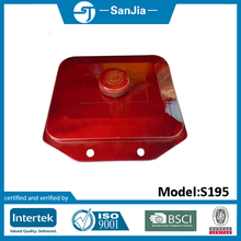Small fuel tank for S195 air cooled diesel engine