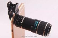 Universal 12X Optical Zoom Telescope Camera Lens Clip Mobile Phone Telescope for mobile phone