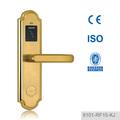puertas de madera y puertas de la esclusa digitales