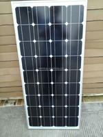12v solar panel 100w 85w 80w monocrystalline wholesale