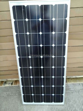 12v solar panel 100w 85w 80w monocrystalline wholesale