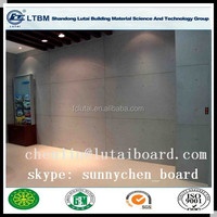 Sound insulation materials fireproof and waterproof Lutai calcium silicate board