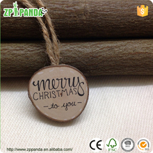 "2015 christmas decoration wood art for gift ""merry christmas to you """"thank you"""