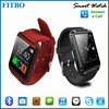 Classical Design Anti Lost Pedometer FTB08 new model watch mobile phone