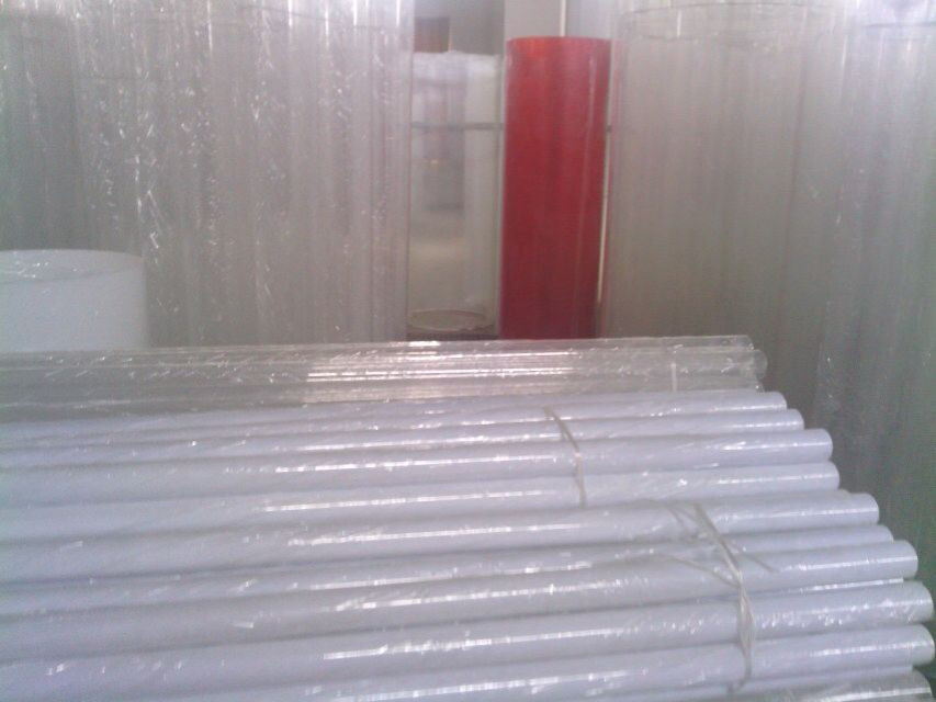 Top china supplier clear cylindrical acrylic glass tube for aquarium