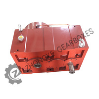china single screw plastic extruder machine gear box speed reducers