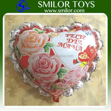 Wholesale Custom Shape Heart Mylar Balloon