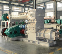 German technology steel materials automatic clay brick production line with block making machine in ghana for sale