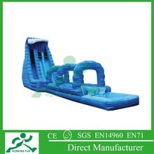 giant inflatable water slide for adult, inflatable slide with pool, large inflatable slide with pool for sale