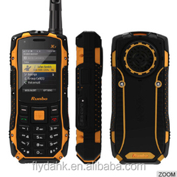 Runbo X1 waterproof dustproof shockproof outdoor mobile phone.
