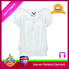 Branded white blank pima cotton t shirt for sale
