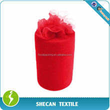 """Wedding decoration 6"""" x 100yds red Tulle roll"""