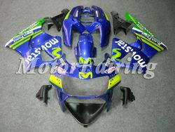 cbr 900rr cbr900rr fairings 1998-1999 for honda cbr900rr fairing kit cbr919 98 99 cbr 919 rr bodykit movistar blue green